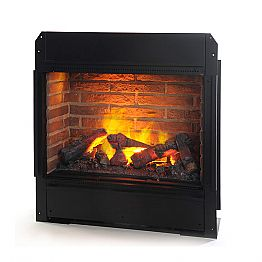 Freestanding electric fireplace York Bricks