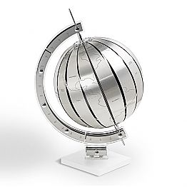 Modern design table globe World, made in Italy