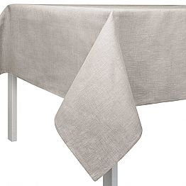 Rectangular or Square Natural Color Tablecloth Made in Italy - Blessy