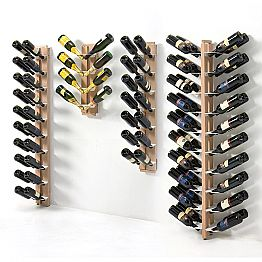 Two-sided wall mounted bottles holder Zia Gaia