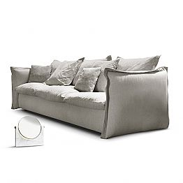 Modern design sofa Knit with fabric upholstery, modern design