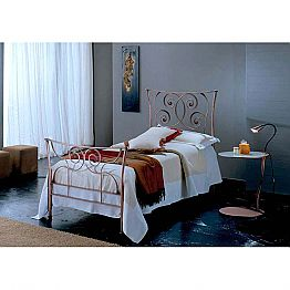 Wrought-iron single bed Ares
