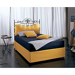 Wrought-iron small double bed Lira