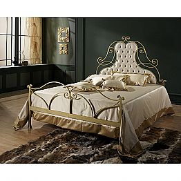 Wrought-iron double bed Paride