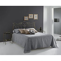 Wrought-iron small double bed Venere