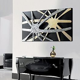 Painting Spider by Viadurinimilano Decor, made in Italy