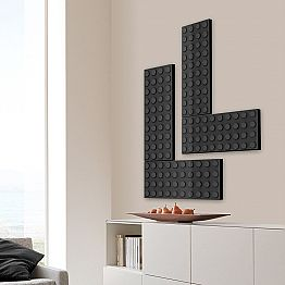Stylish electric radiator Brick made in Italy by Scirocco H