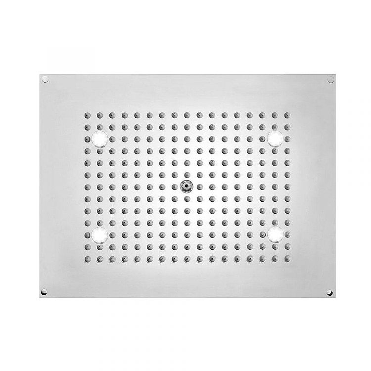 Bossini Rectangular shower head Dream   with LED lights, modern design