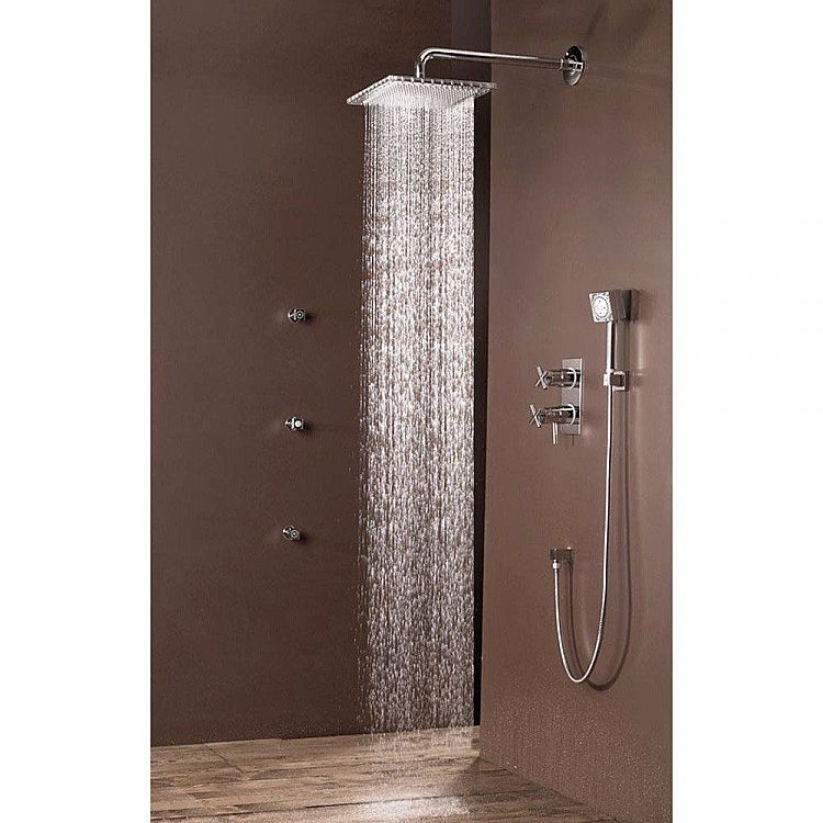 Bossini   shower head and arm Dream Cube